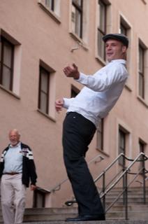 Florian Kreis als Bert Brecht